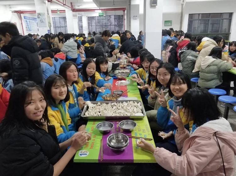 汉昌学区:爱在冬至,情暖留守儿童